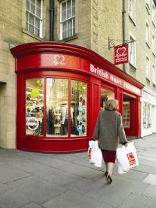 Edinburgh BHF shop