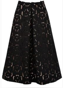 Oasis midi skirt
